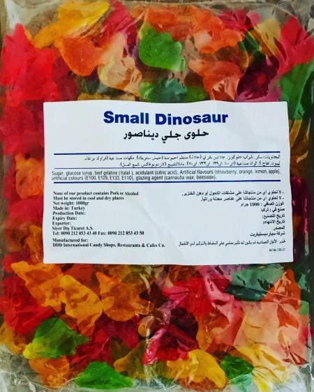 Gumene bombone dinosaurus 1kg