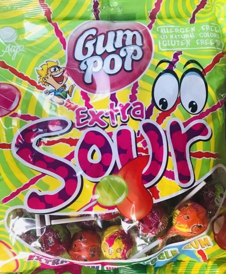 Lizalica Gum Pop extra sour 18g (48/1)