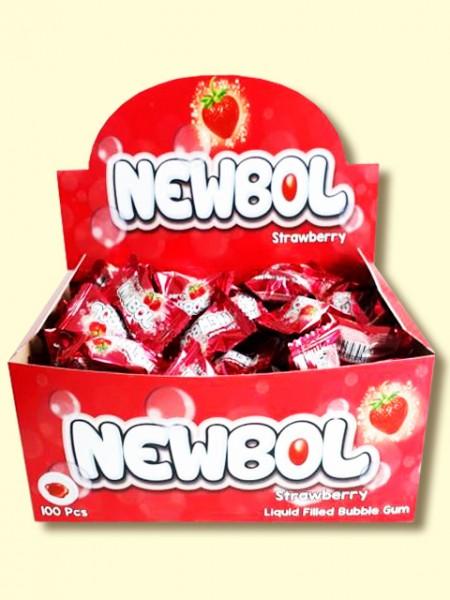 Žvaka NEWBOL 3,5g jagoda (100/1)