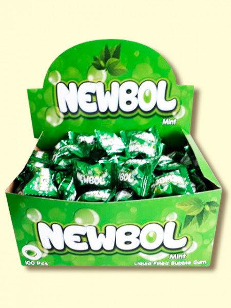 Žvaka NEWBOL 3,5g mint (100/1)