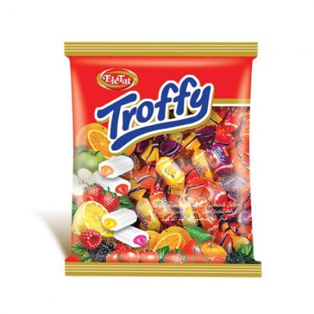 Punjena karamel bombona Troffy voćni mix 800g