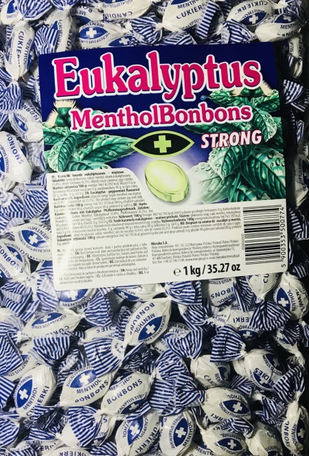 Bombone Eukalyptus strong 1kg