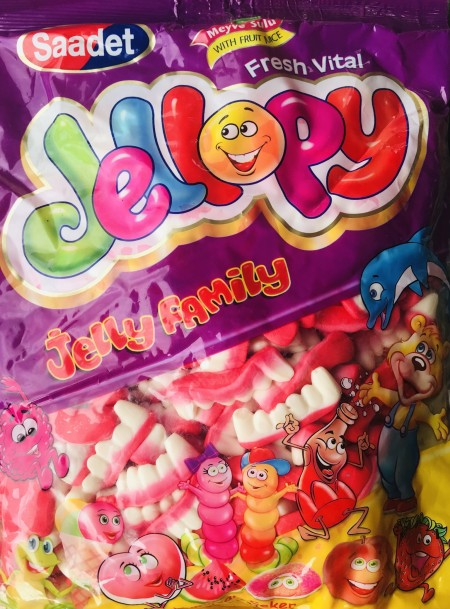 JELLOPY gumene bombone 1kg zubi