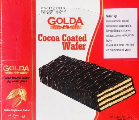 GOLDA wafer 15g (48/1)