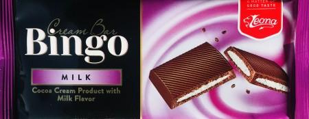 Čokolada BINGO 50g milk (36/1)