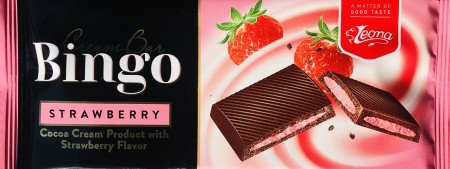 Čokolada BINGO 50g jagoda (36/1)