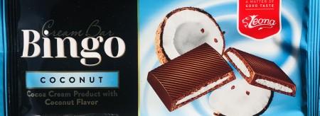 Čokolada BINGO 50g kokos (36/1)
