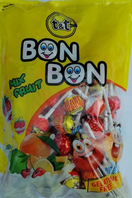 Lizalica Bon Bon voćni miks 12g(100/1)