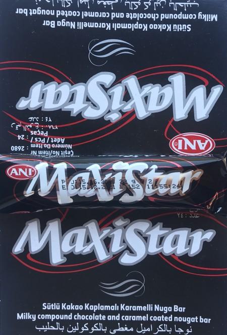 Čokoladica mini 22g maxistar karamel (24/1)