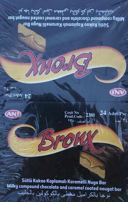 Čokoladica mini 22g Bronx kakao karamela