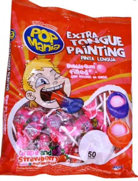 Lizalica pop mania extra tongue 17g (50/1)