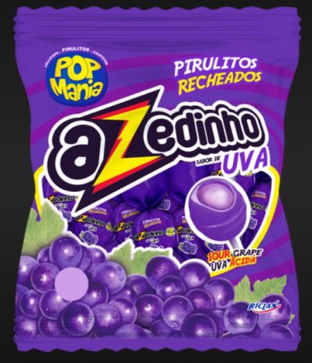 Lizalica pop mania azedinho grape 12g (50/1)
