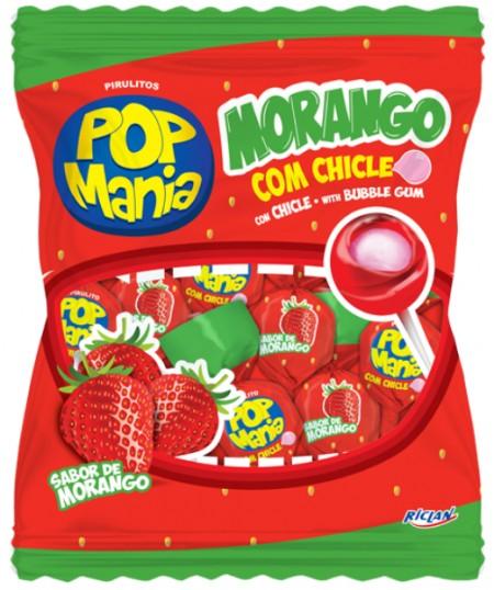 Lizalica pop mania jagoda 12g (50/1)