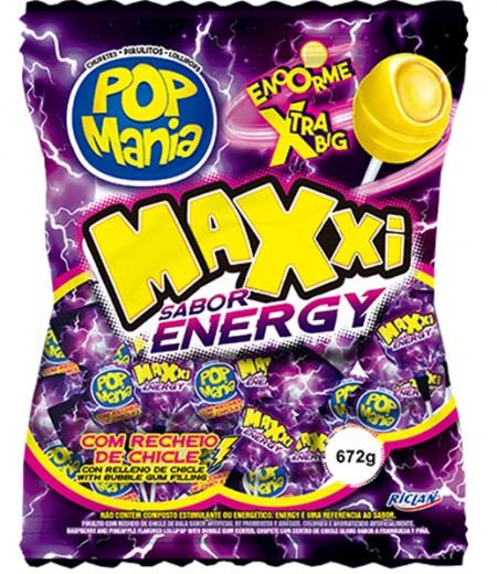 Lizalica pop mania xxl energy 28g (24/1)