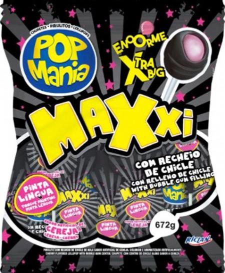 Lizalica pop mania xxl višnja 28g (24/1)