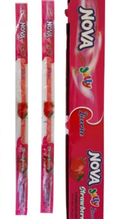Kisela traka Nova jelly 15g sa ukusom jagode (48/1)