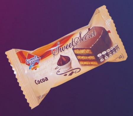 Tortice prelivene cokoladom 35g (40/1)