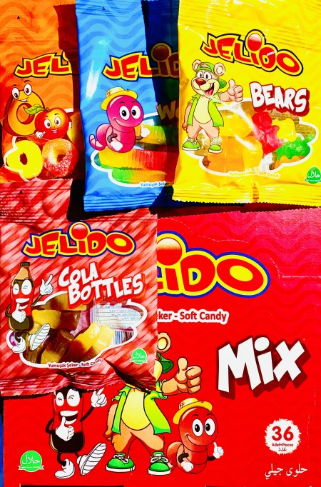 Jelido mix gumene bombone 20g (36/1)