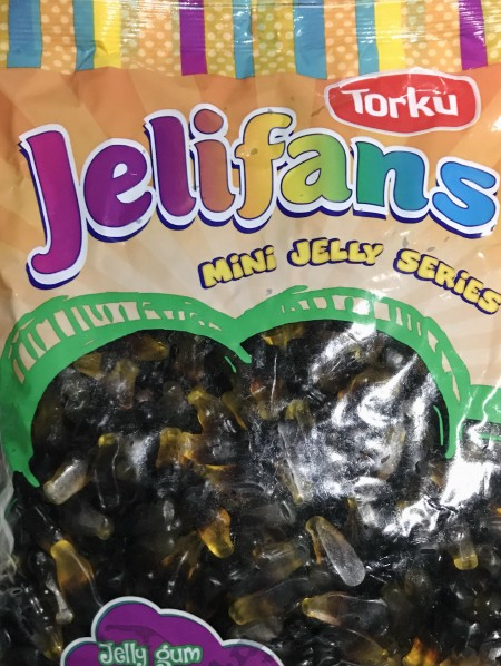 Jelifans gumene bombone 1kg mini kolice