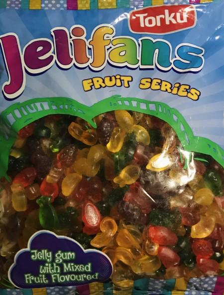 Jelifans gumene bombone 1kg mini mix
