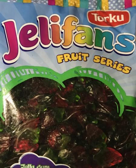 Jelifans gumene bombone 1kg jagodice