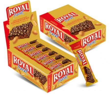 Napolitanke Doriva royal waflem čokolada i kikiriki 35g