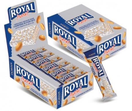 Napolitanke Doriva royal waflem bela čokolada i kikiriki 35g