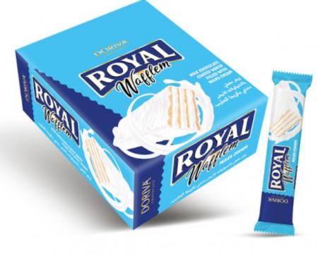 Napolitanke Royal waflem bela čokolada 20g