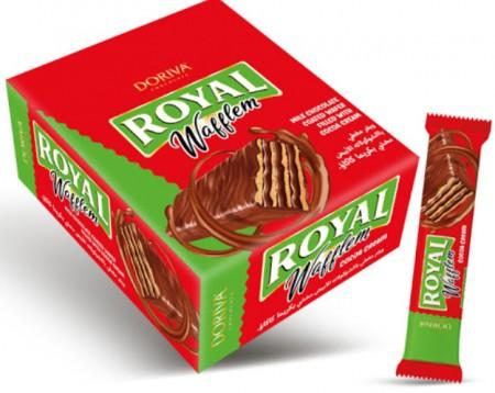 Napolitanke Royal waflem kakao 20g