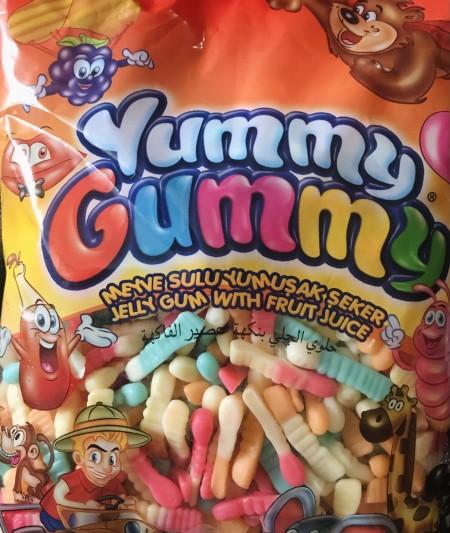 Yummy gummy gumene bombone 1kg crvi