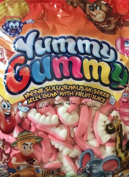 Yummy gummy gumene bombone 1kg zubi