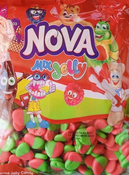 Nova mix jelly gumene bombone 1kg srce