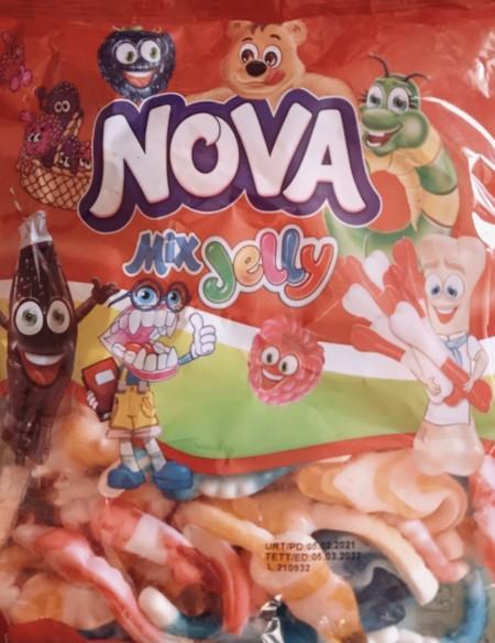 Nova mix jelly gumene bombone 1kg miš