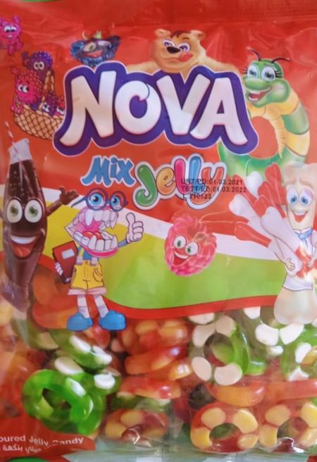 Nova mix jelly gumene bombone 1kg prsten