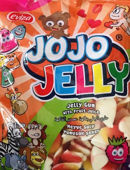 Jojo Jelly gumene bombone 1kg šareno srce