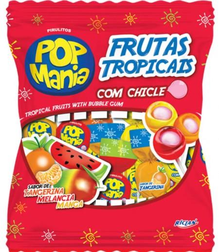 Lizalica pop mania tropsko voće 12g (50/1)