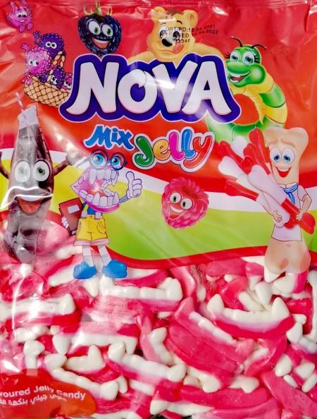 Nova mix jelly gumene bombone 1kg zubi