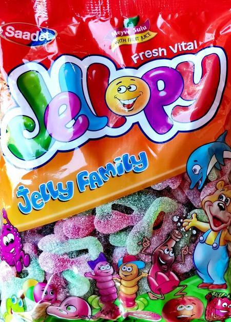 Jellopy gumene bombone 1kg šećerne višnje