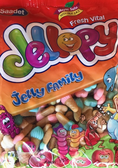 Jellopy gumene bombone 1kg sladoled