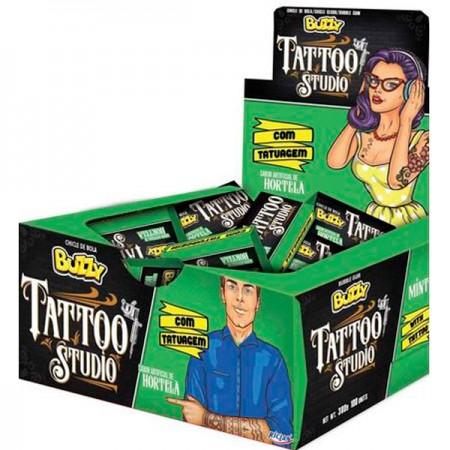 Buzzy tattoo mint (100/1)