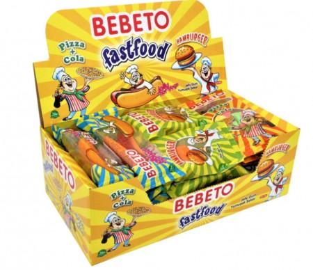 Gumene bombone bebeto mix 30g (24/1)